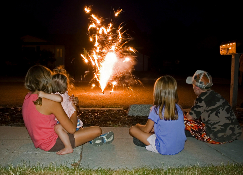 personal injury attorney, safety, fourth of july, safe and sane fireworks