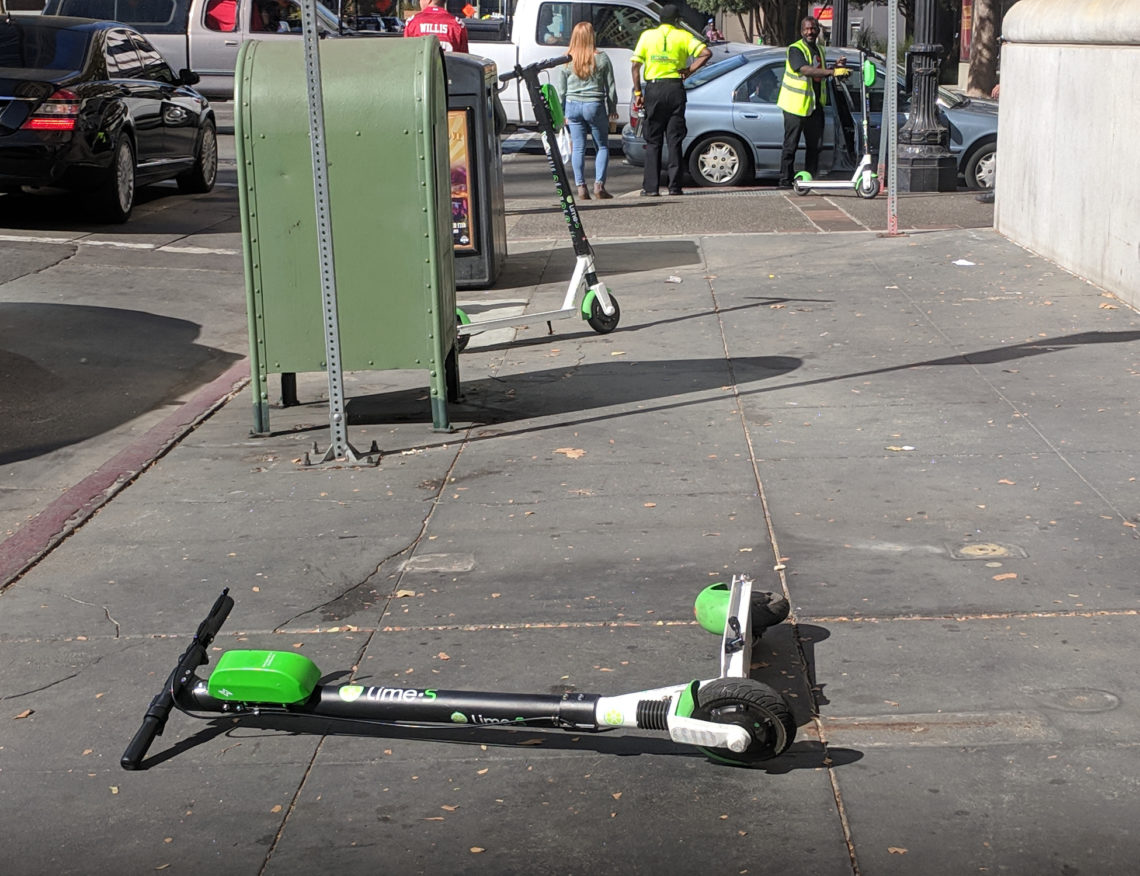 dangerous escooter
